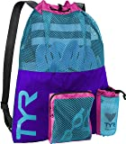 TYR LBMMB3-545 Big Mesh Mummy Backpack Purple/Blue, One Size