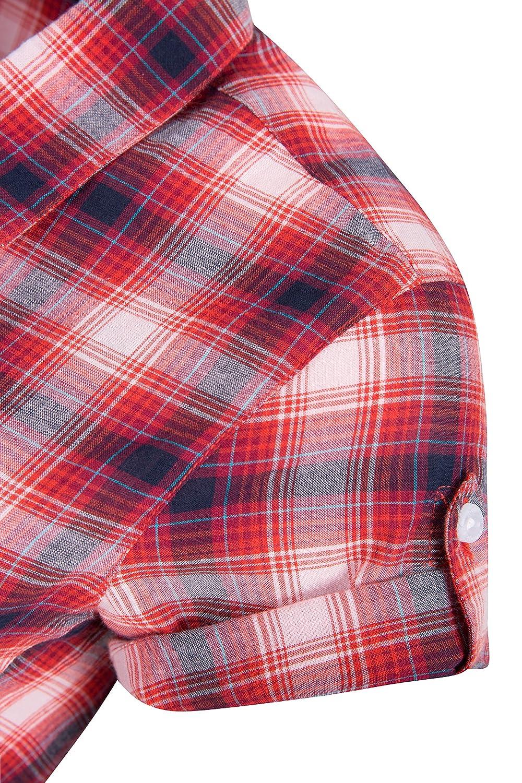 Caminar Top de Manga Corta para Mujer Mountain Warehouse Camisa de algod/ón Holiday para Mujer Camisa Ligera de Verano para Mujer para Viajar Camisa Informal