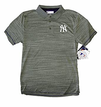 official photos 6c072 f651d True Fan Men's Official MLB Merchandise NY Yankees Polo ...