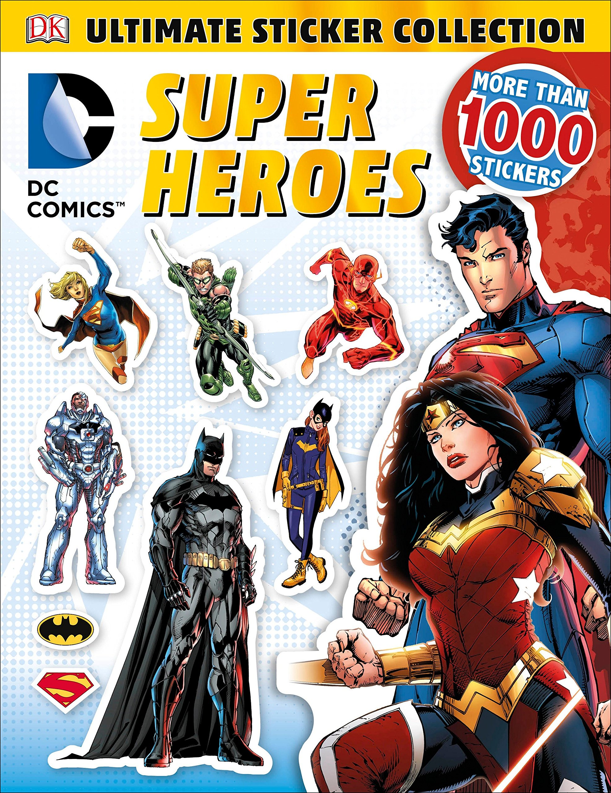 Ultimate Sticker Collection: DC Comics Super Heroes (Ultimate Sticker  Collections): DK: 9781465445490: Amazon.com: Books