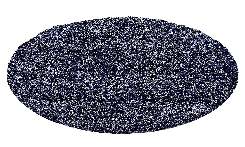 Unbekannt Shaggy Hochflor Langflor Teppich Wohnzimmer Carpet Carpet Carpet Uni Farben, Rechteck, Rund, Farbe Anthrazit, Größe 200x200 cm Quadrat B06XTWXNRR Teppiche 2ebb3d