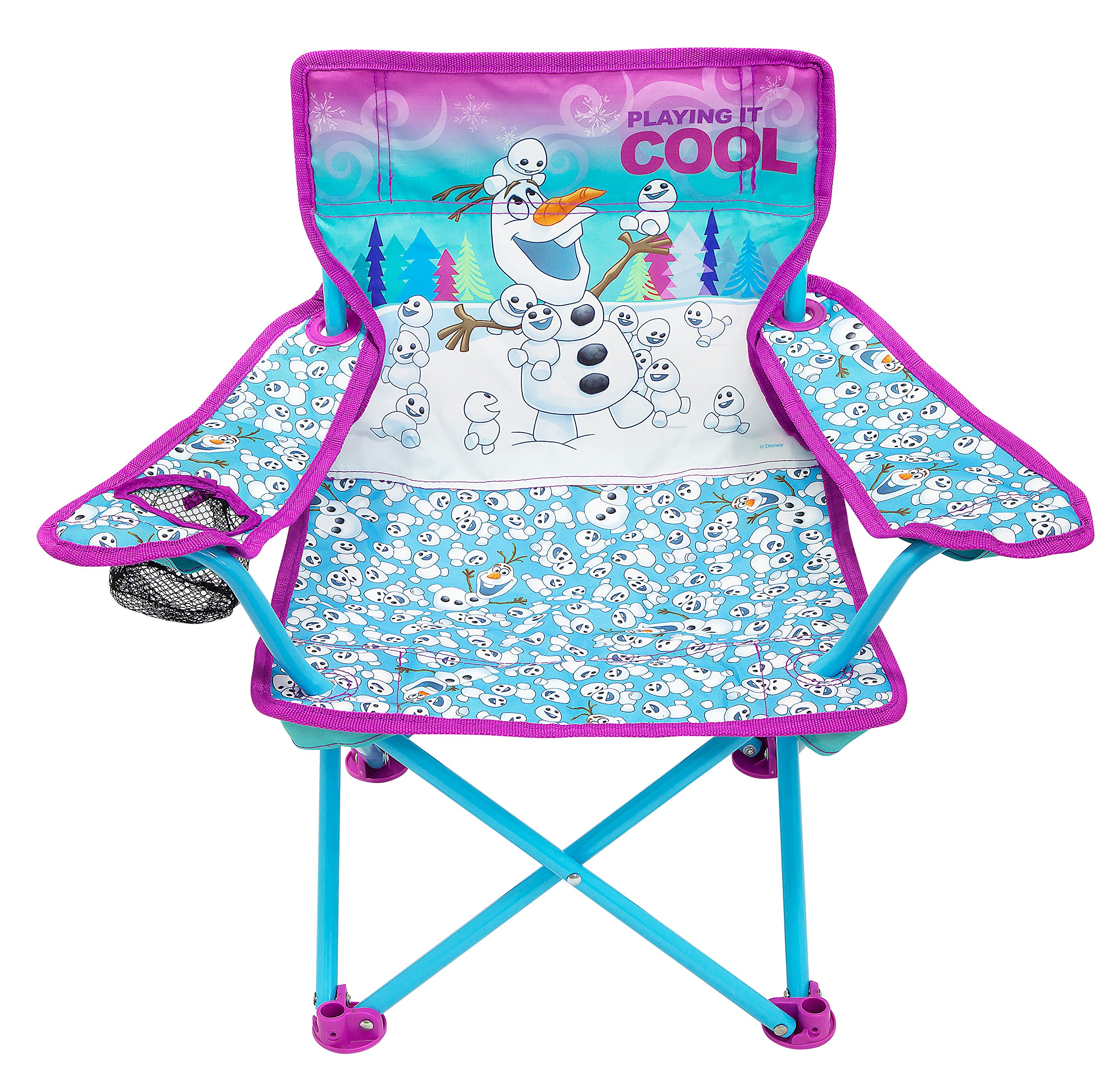 Frozen Northern Lights Fold N Go Chair