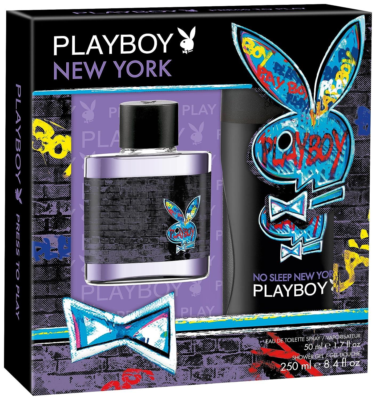 Coffret Cadeau Homme Eau de Toilette et Gel de Douche New York Playboy 32666791000