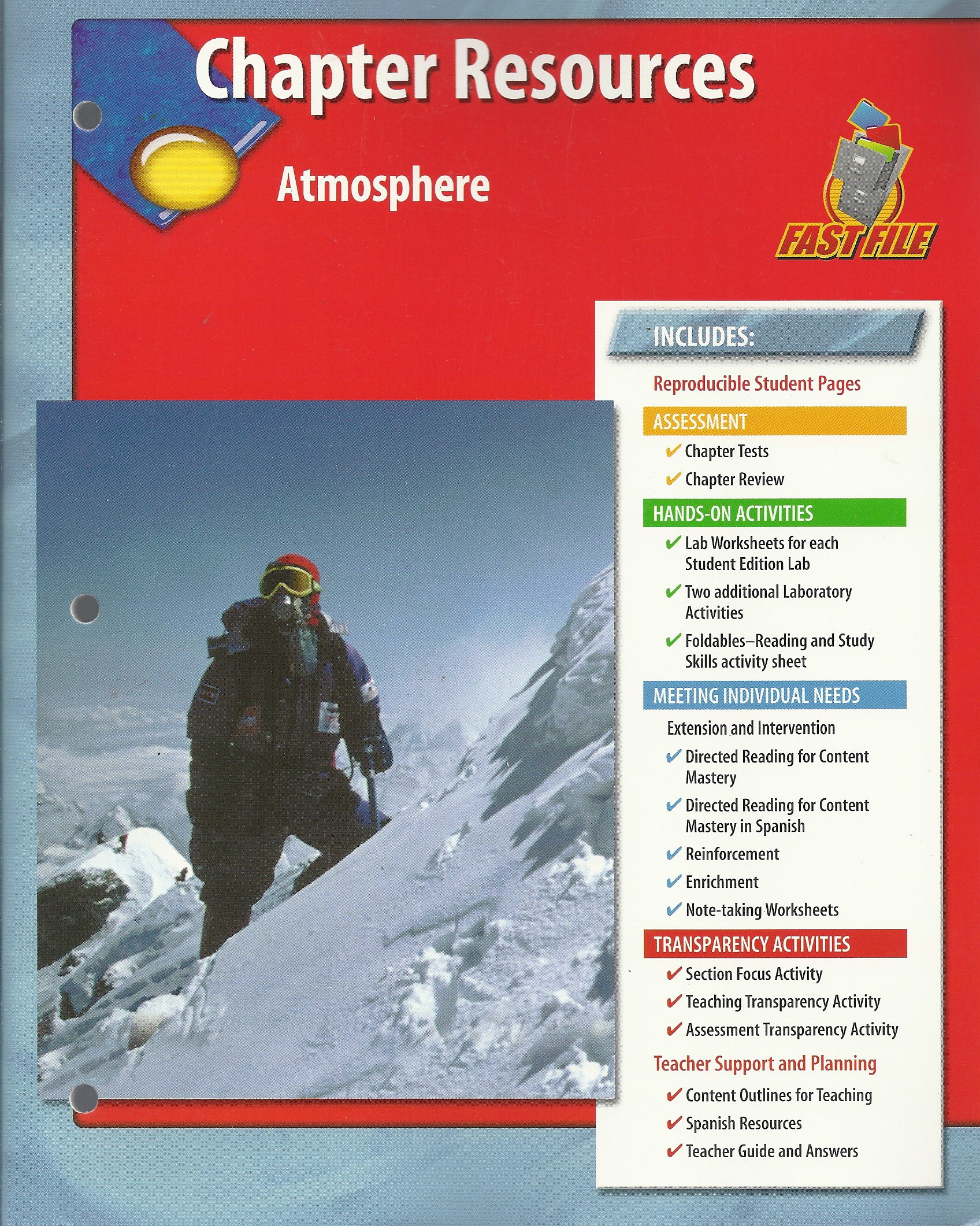 Read Online Chapter Resources, Atmosphere Glencoe Science Fast File ebook