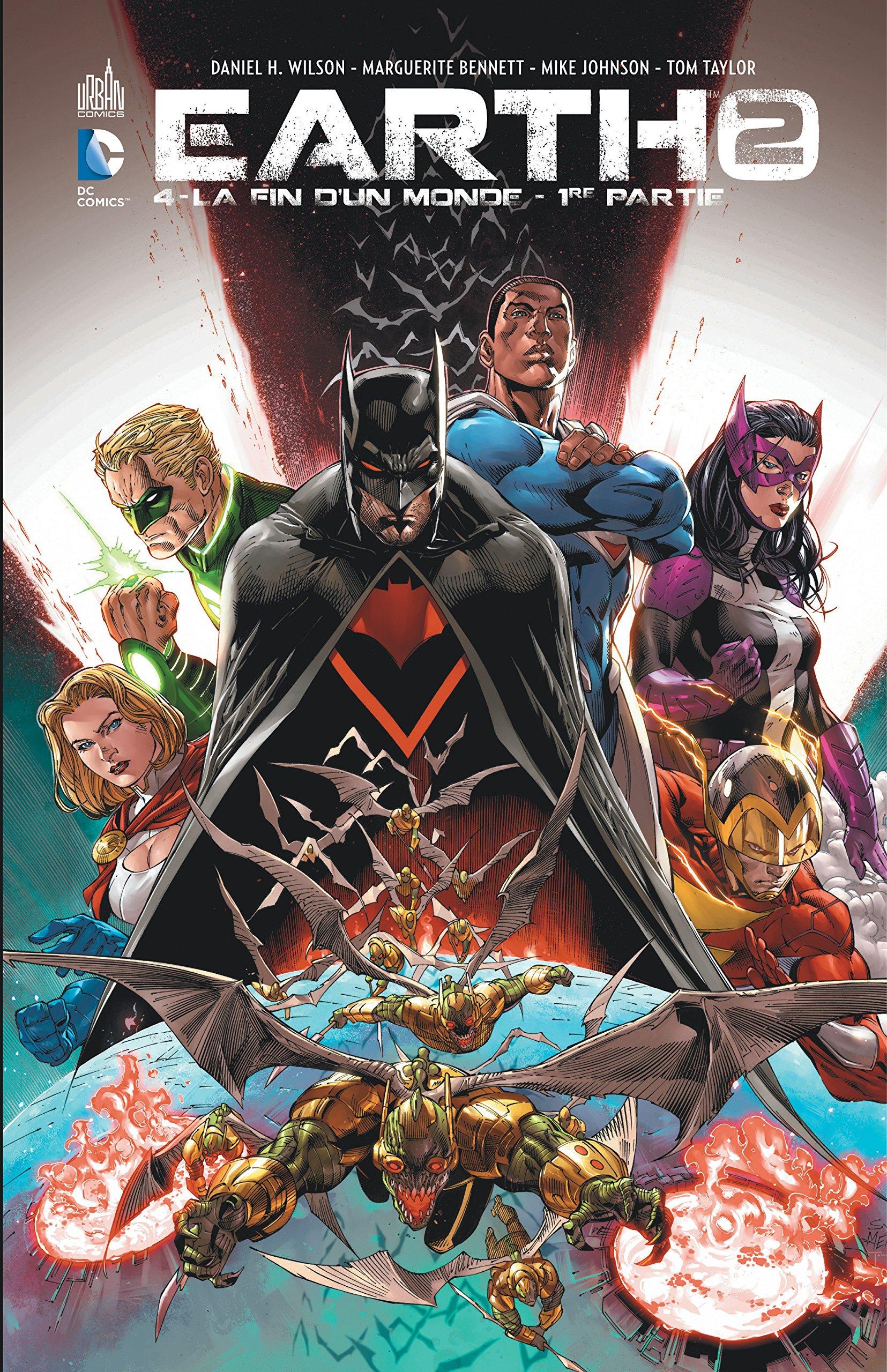 Earth 2 Tome 4 Relié – 29 avril 2016 Collectif Urban Comics 2365778674 Comics & mangas