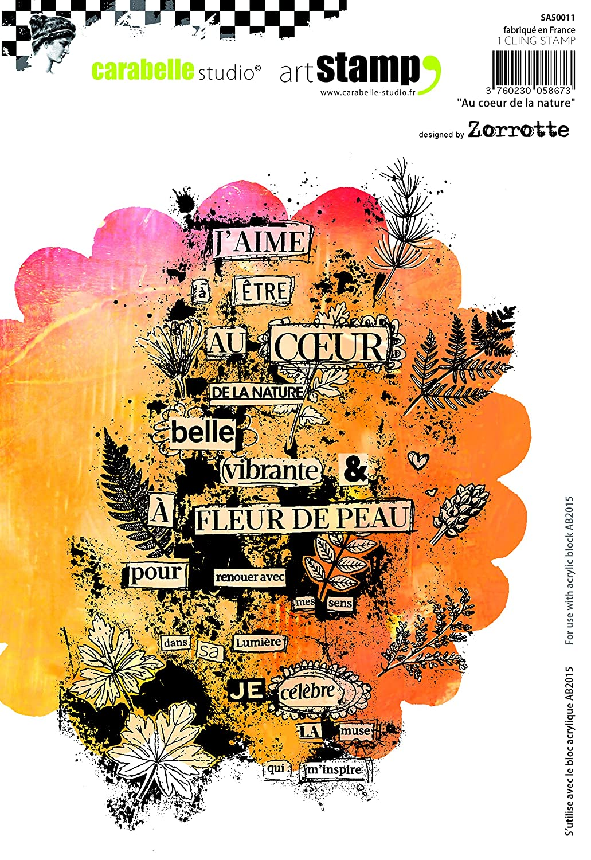 Au Coeur De La Nature by Zorrotte Carabelle Studio A5 Unmounted Stamp Set