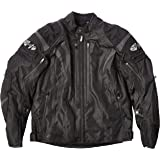 Joe Rocket Atomic Men's 5.0 Textile Motorcycle Jacket (Black, Large)