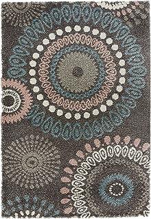 Mint Rugs 102755 Design Velours Teppich Hochflor Globe Polypropylen