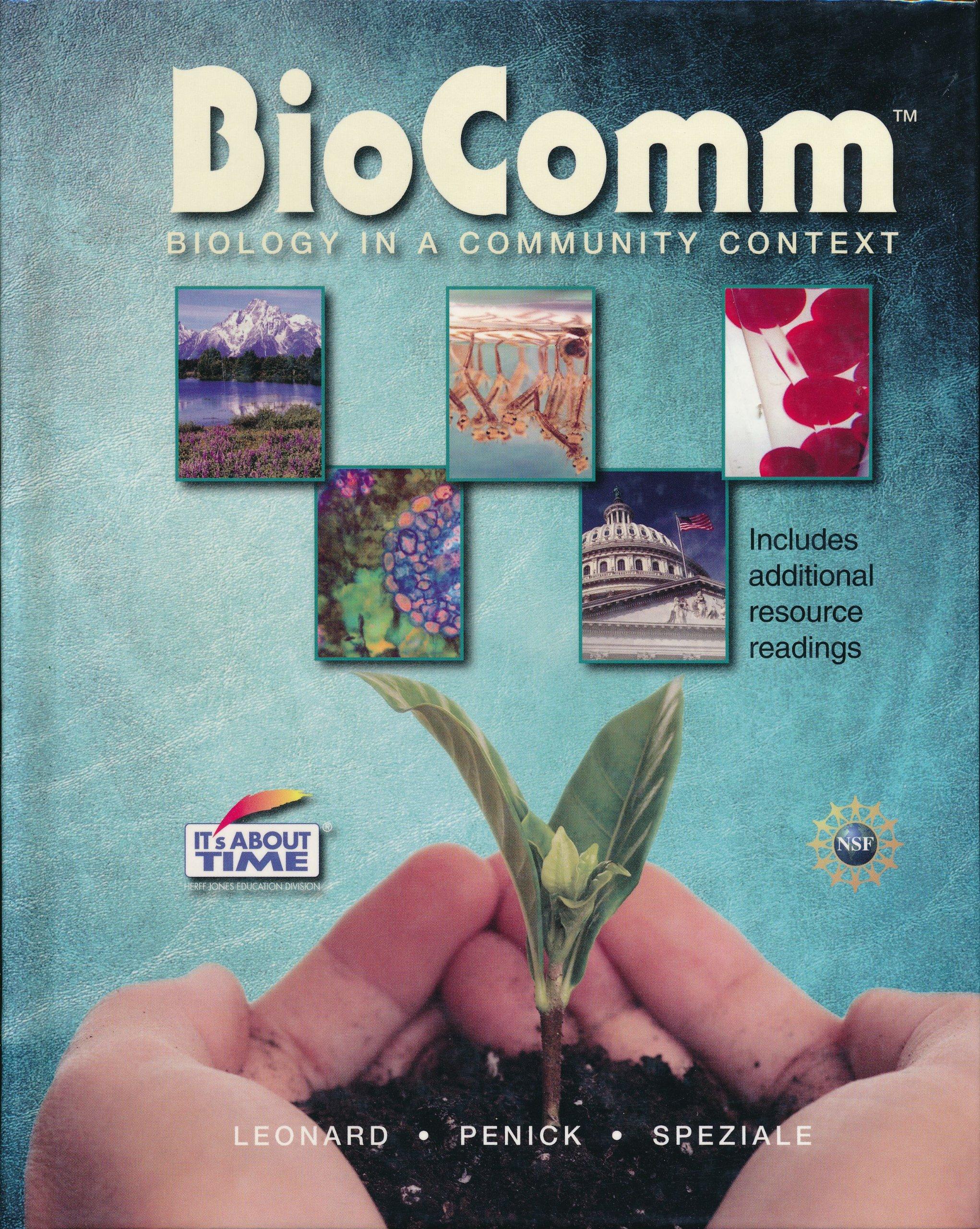 BioCom: Biology In A Community Context: William H  Leonard