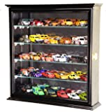 4 Adjustable Shelves Hot Wheels / Matchbox / Diecast Cars / 1/64 Model Display Case Cabinet