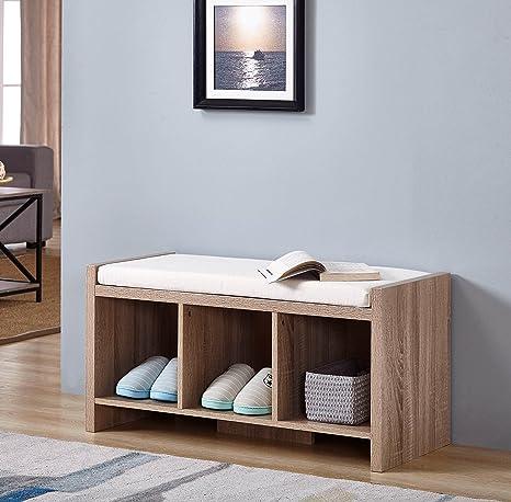 Amazon.com: Recuperado acabado de madera de roble Sonoma con ...