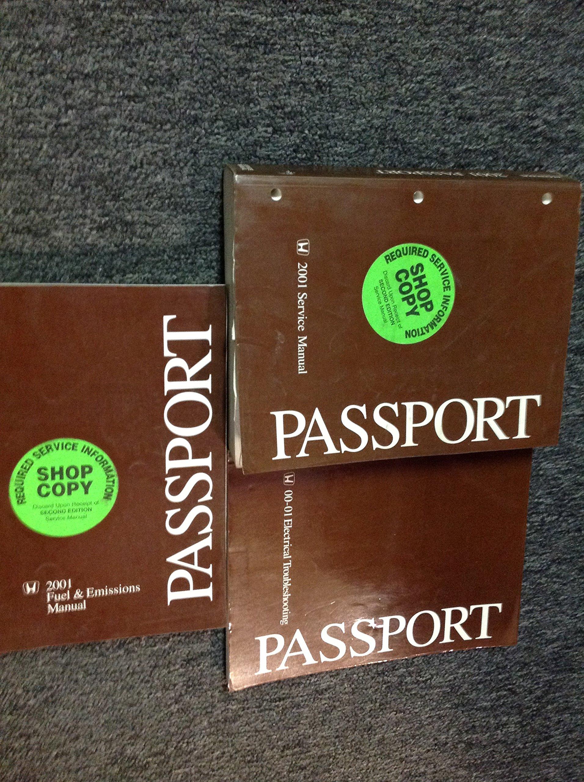 honda passport repair manual