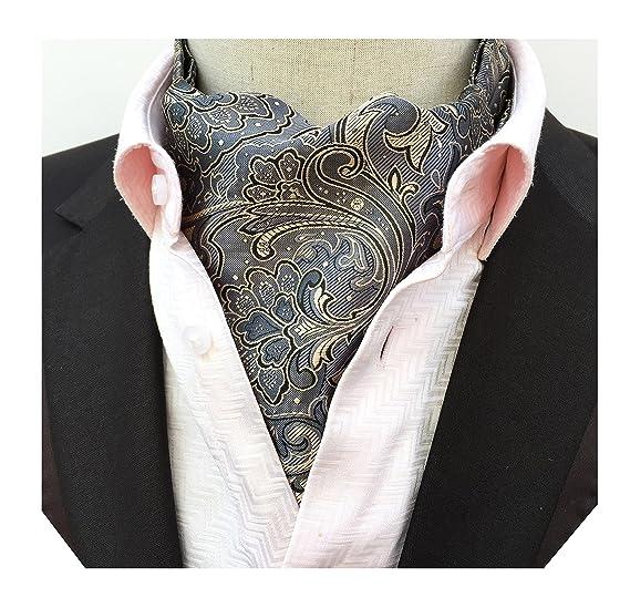 Boys' Accessories Boys Cravat Wedding Ascot Necktie Formal Party One Size Silver Grey Wedding & Formal Occasion