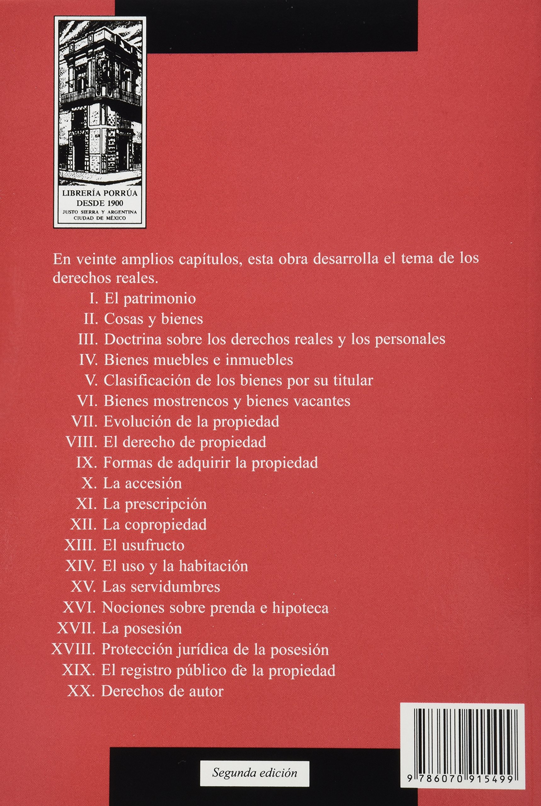 Los Derechos Reales Portada Puede Variar Sergio T Azua Reyes  # Muebles Mostrencos