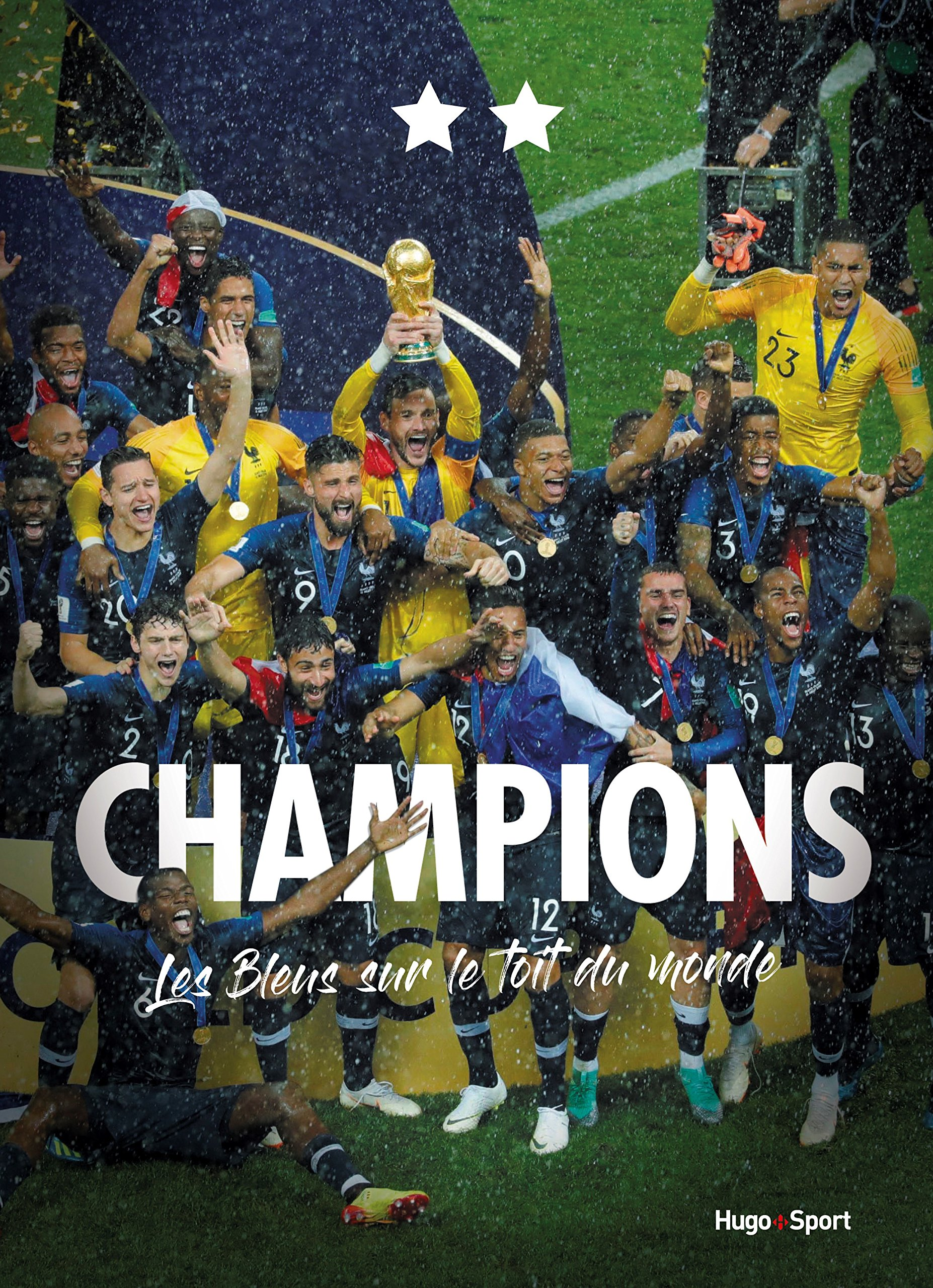 Equipe De France De Football Fussball Schal Fff Champion Du Monde