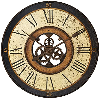 Amazon Com Howard Miller 625542 Brass Works Clock Home Kitchen