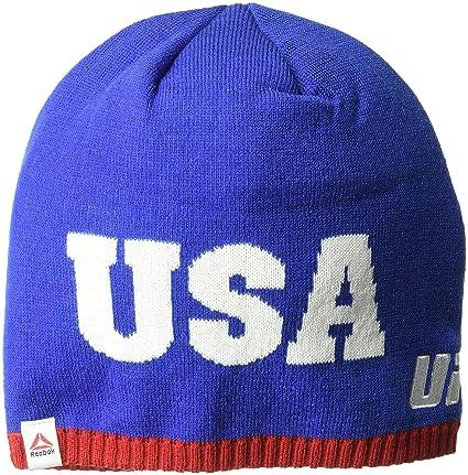 253a6e7a1d4 Amazon.com   UFC Adult USA Uncuffed Beanie