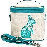 SoYoung Aqua Bunny Small Cooler Bag, Raw Linen