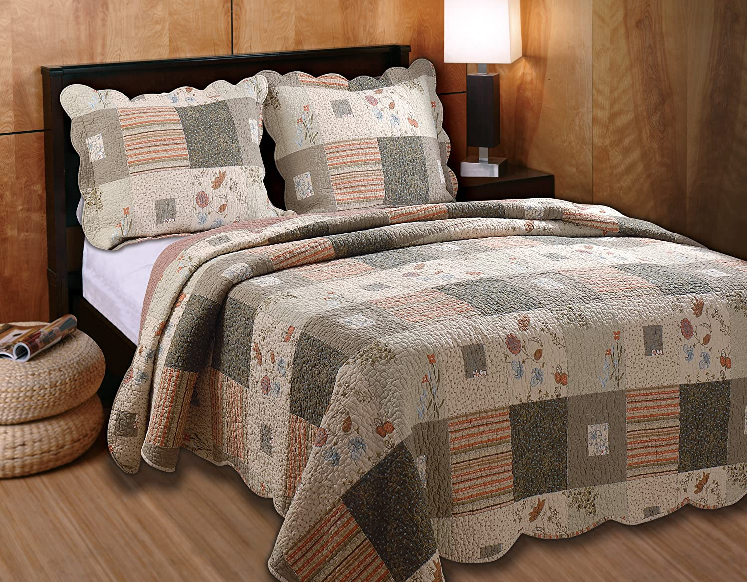 Amazon: Greenland Home Sedona King 3piece Quilt Set: Home & Kitchen