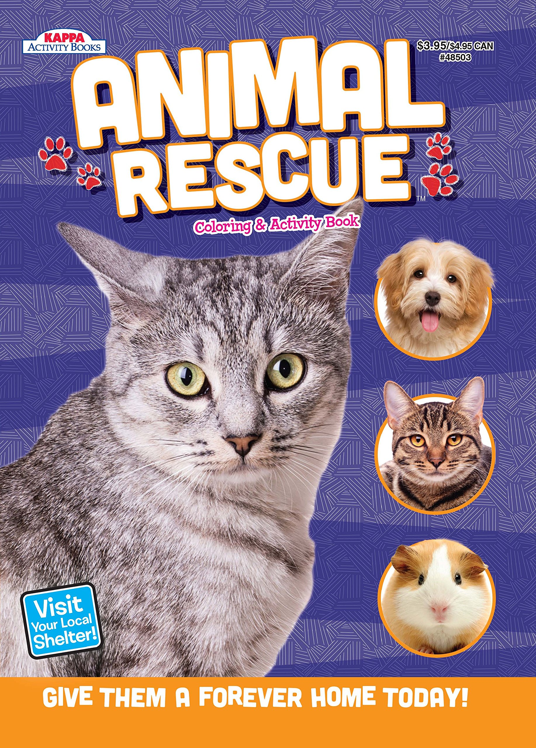 Animal Rescue Coloring Activity Book
