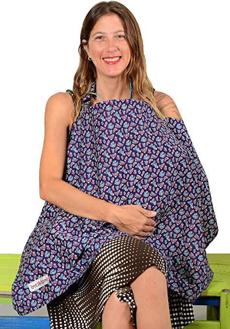 IntiMom Breastfeeding Nursing Cover Review