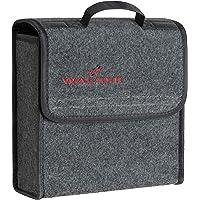 WALSER kofferbak tas Toolbag maat S, naaldvilt kofferbak organizer, auto tas, opbergtas, kofferbak gereedschapstas…