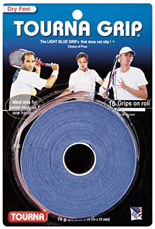Tourna Grip XL Overgrip de Tenis (Pack de 10 Grips)