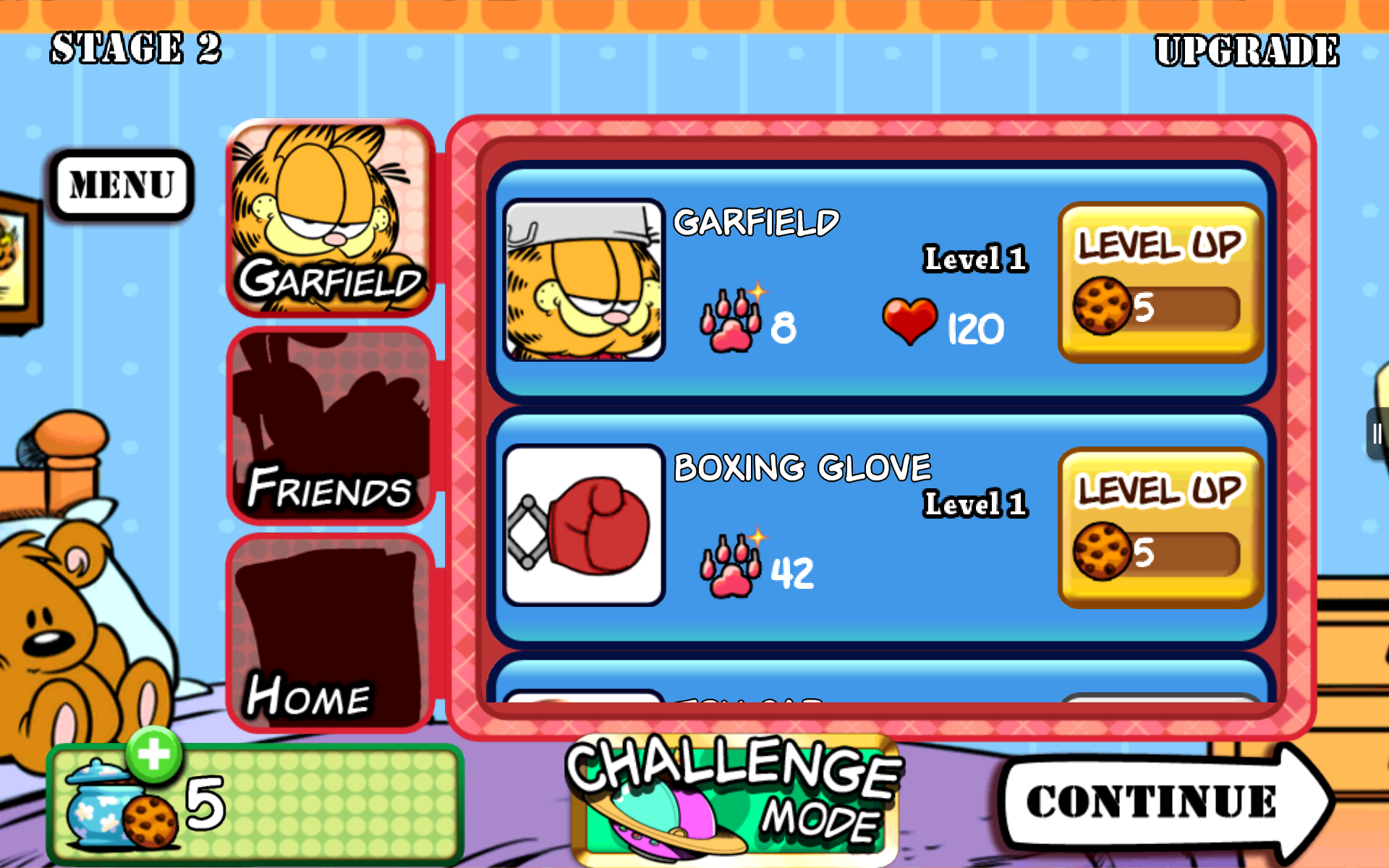 Amazon Com Garfield S Defense Attack Of The Food Invaders Appstore For Android