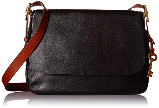 Fossil Harper Large Crossbody, Black, One Size: Handbags: Amazon.com