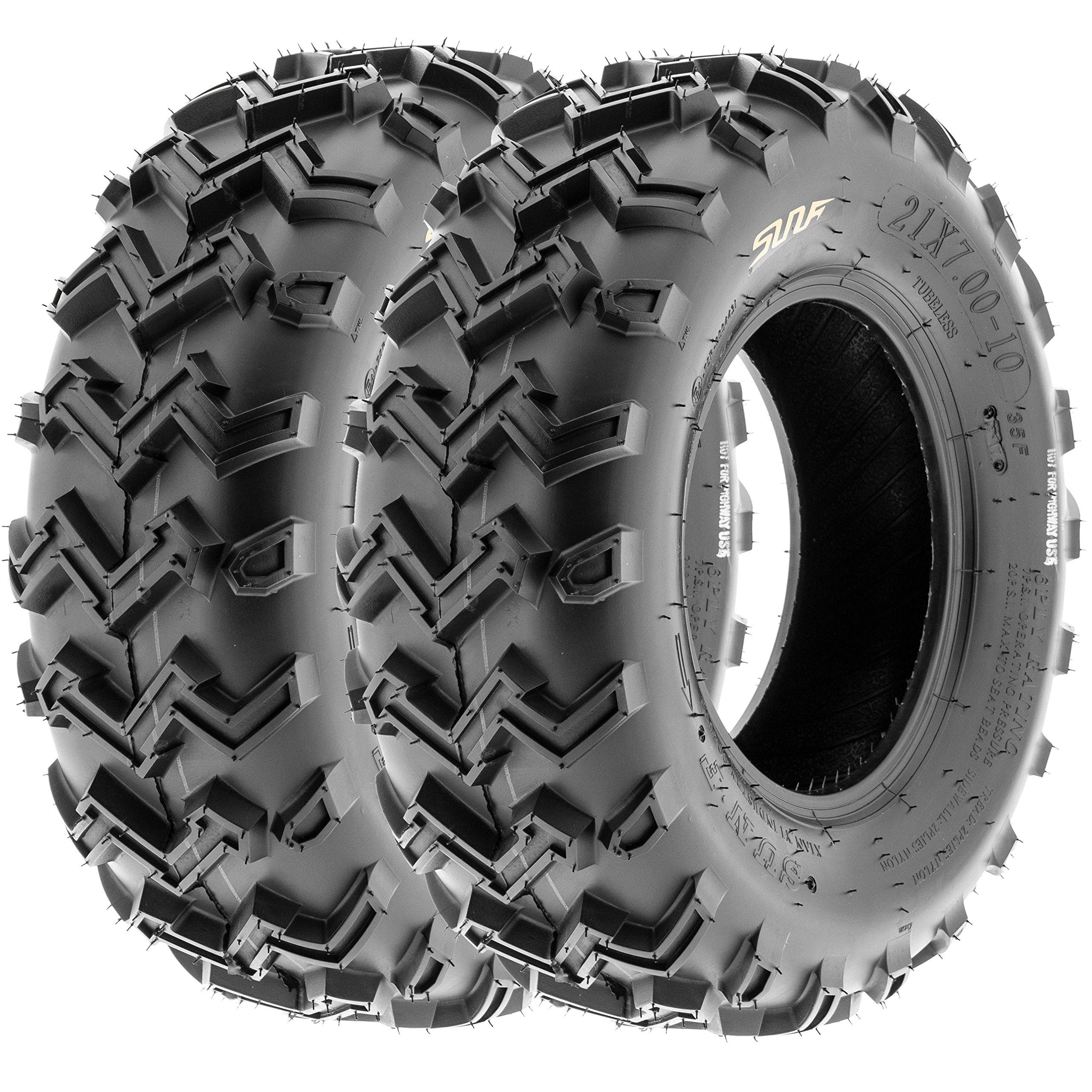 SunF ATV UTV Front Tires 24x8-12 24x8x12 4 PLY A001 (Set Pair of 2)
