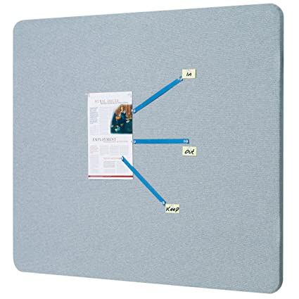 Merveilleux Quartet Fabric Bulletin Board, 4u0027 X 3u0027, Frameless, Oval Office,