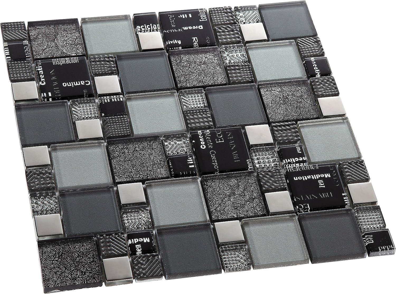 gold DEC-47082ABC113 30/x 30/cm 8/mm Decostyle LGX Mosaik Deko