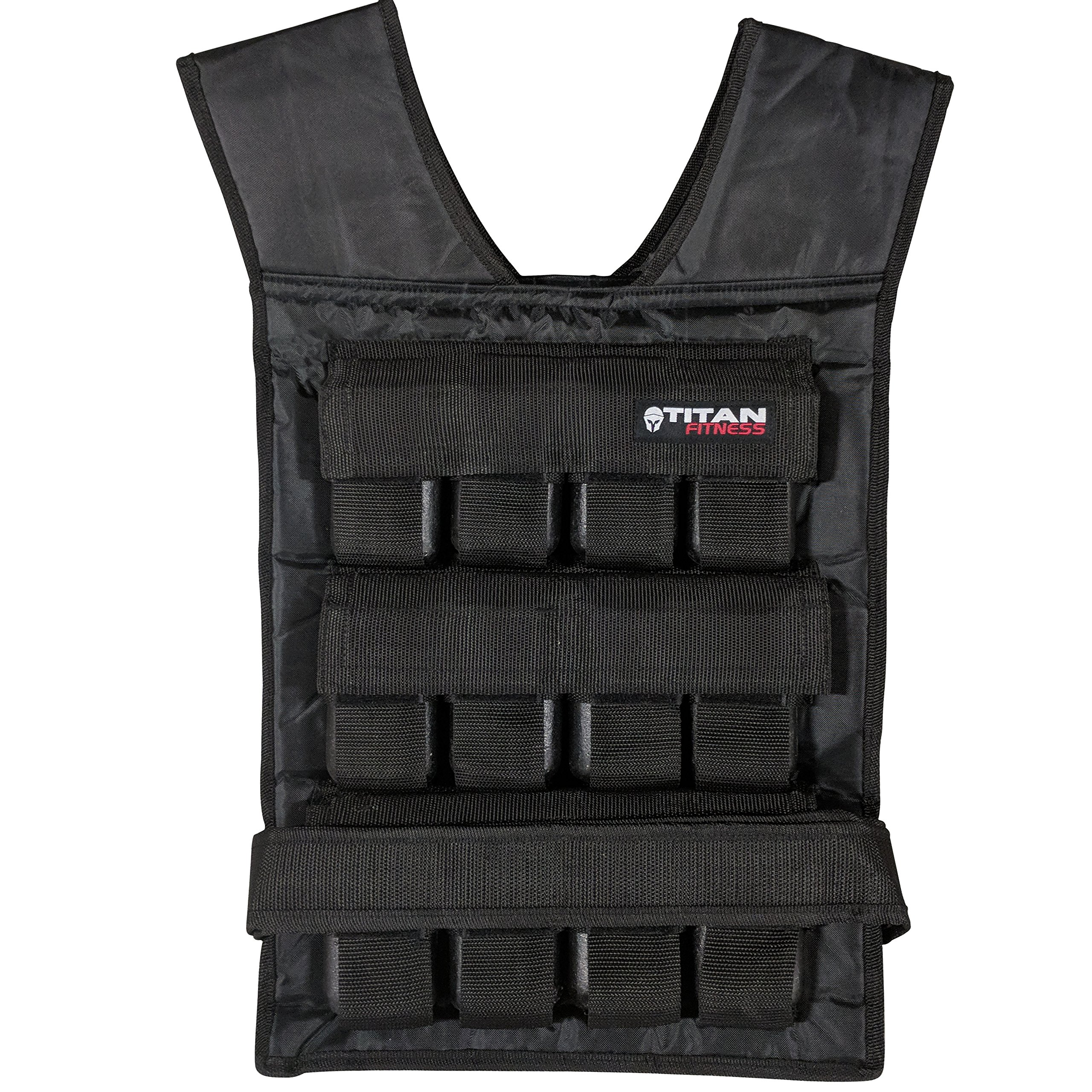 Titan Adjustable Weighted Vest 60 LB