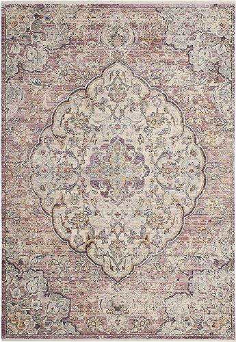 Safavieh Illusion Collection ILL711F Cream and Rose Area Rug 9 x 12