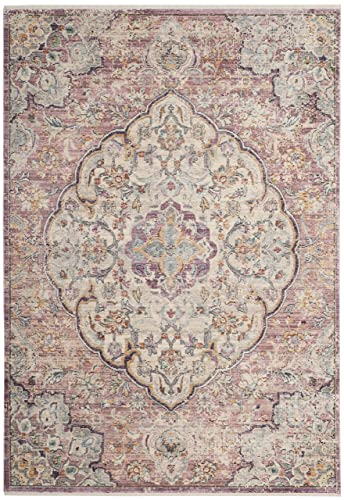 Safavieh Illusion Collection ILL711F Cream and Rose Area Rug 5 x 8