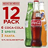Mexican Coke Fiesta Pack, 12 fl oz Glass