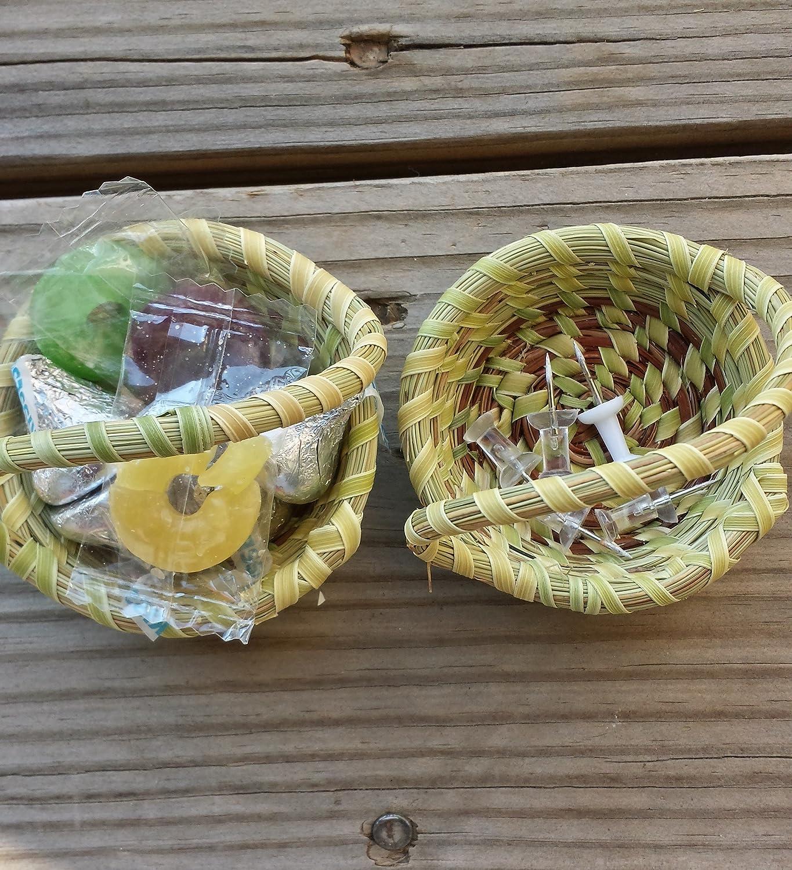 Sweetgrass Mini One Handle Baskets