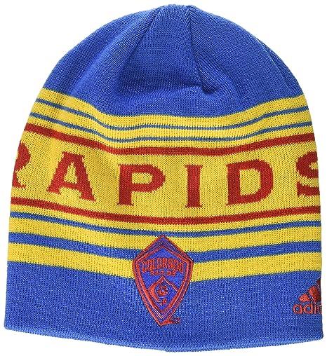 0399b5cda7d Amazon.com   MLS Colorado Rapids Adult 1st Kick Jersey Hook Beanie ...