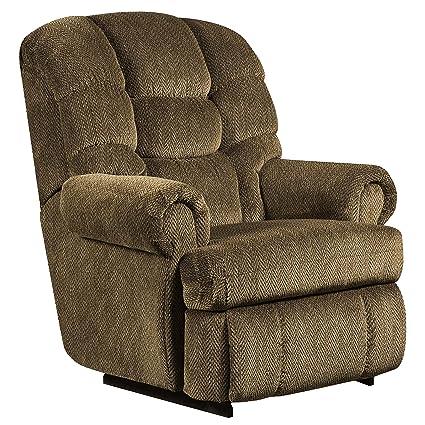 Merveilleux Flash Furniture Big U0026 Tall 350 Lb. Capacity Gazette Basil Microfiber  Recliner