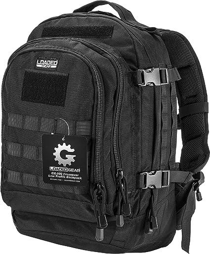 31157d65888 Amazon.com : BARSKA Loaded Gear GX-500 Crossover Utility Backpack ...