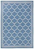 Safavieh Courtyard Collection CY6889-243 Blue and