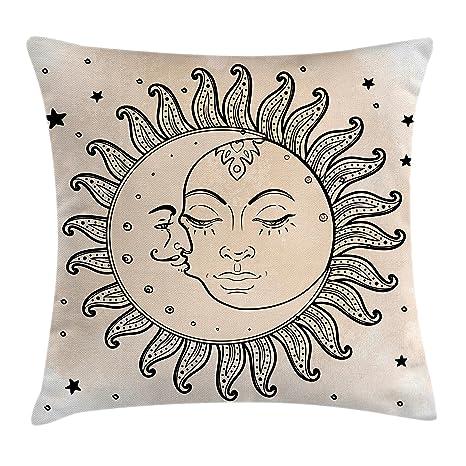 Sketchy manta almohada Funda de cojín por Ambesonne, sol y ...