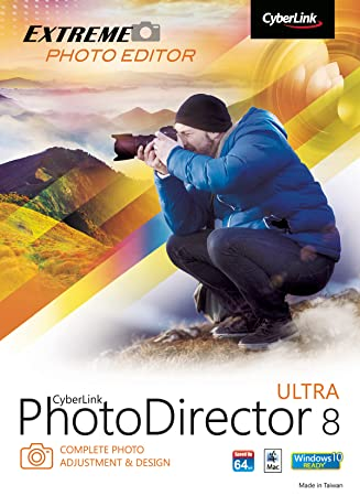 CyberLink PhotoDirector 8 Ultra - Mac Version [Download]