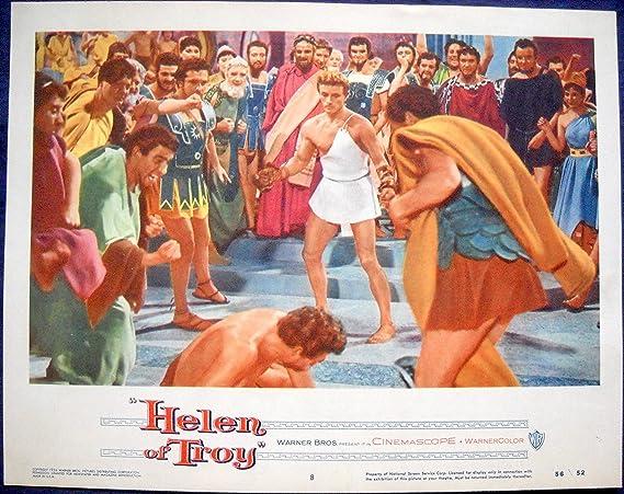 HELEN OF TROY MOVIE POSTER Greek Legend/Podesta/Sernas-l/c