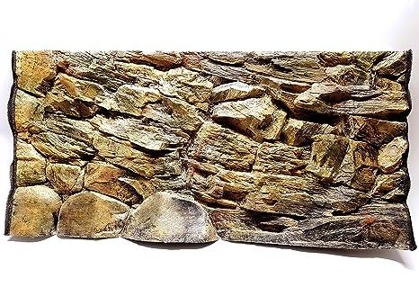 Aqua Maniac - Fondo para acuario 3D, diseño de roca beige ...