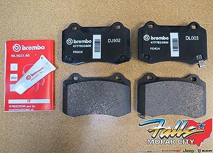 Brembo Brake Pads >> Amazon Com Jeep Grand Cherokee Srt Brembo Rear Brake Pads Mopar Oem
