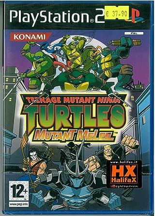 Teenage Mutant Ninja Turtles (Ps2): Amazon.es: Videojuegos