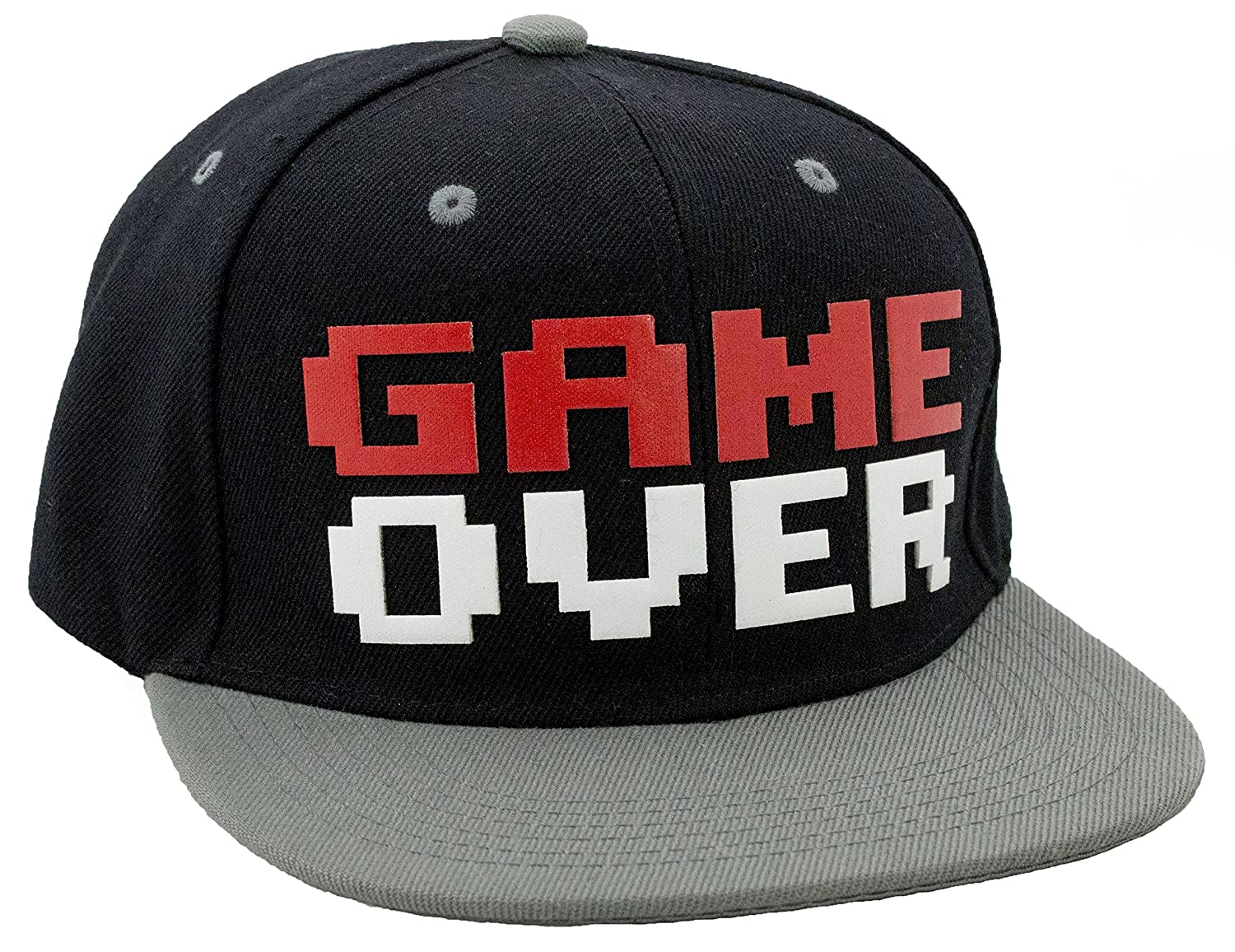 4ccea269667 N-Style Game Over Snapback Baseball Hat at Amazon Men s Clothing store