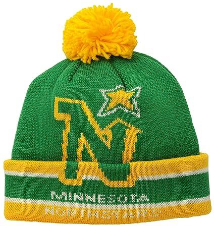 4a368749746 Amazon.com   NHL Minnesota North Stars Men s CCM Cuffed Pom Knit Cap ...