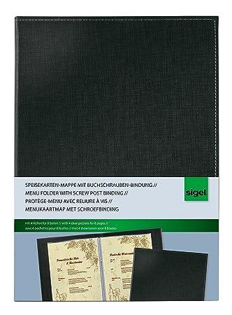 SIGEL SM130 Cubierta para carta con fijación tornillos de ...